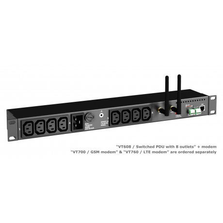 VT608 / Switched IP PDU