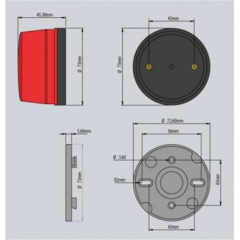 VT105 / Strobe light