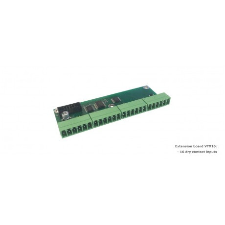 VTX16 / Dry contacts board (IN)