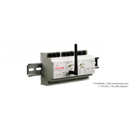 VT336 / DIN I/O controller