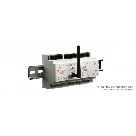 VT336 / DIN monitoring unit
