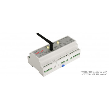 VT336POE / DIN monitoring unit