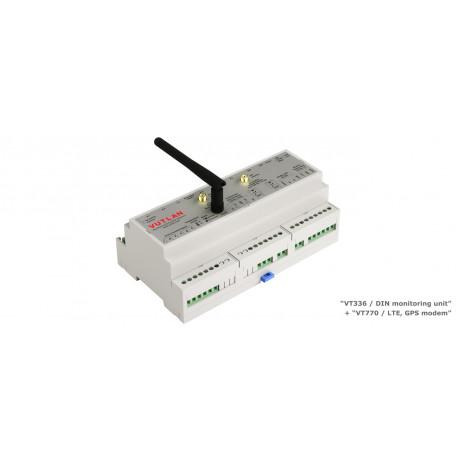 VT336POE / DIN monitoring unit