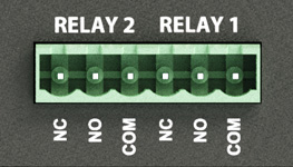 Two relays