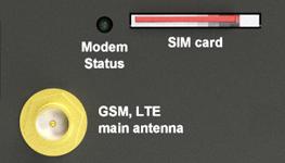 SIM, antenna slot